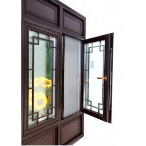 巨人门窗豪华款仿古窗